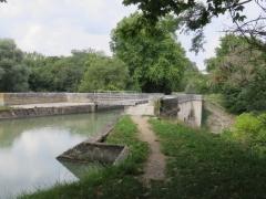 Pont canal sur la Sauldre