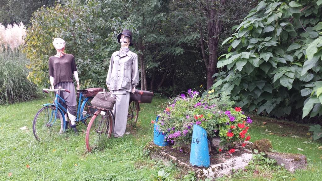 Le jardin d'Evelyne