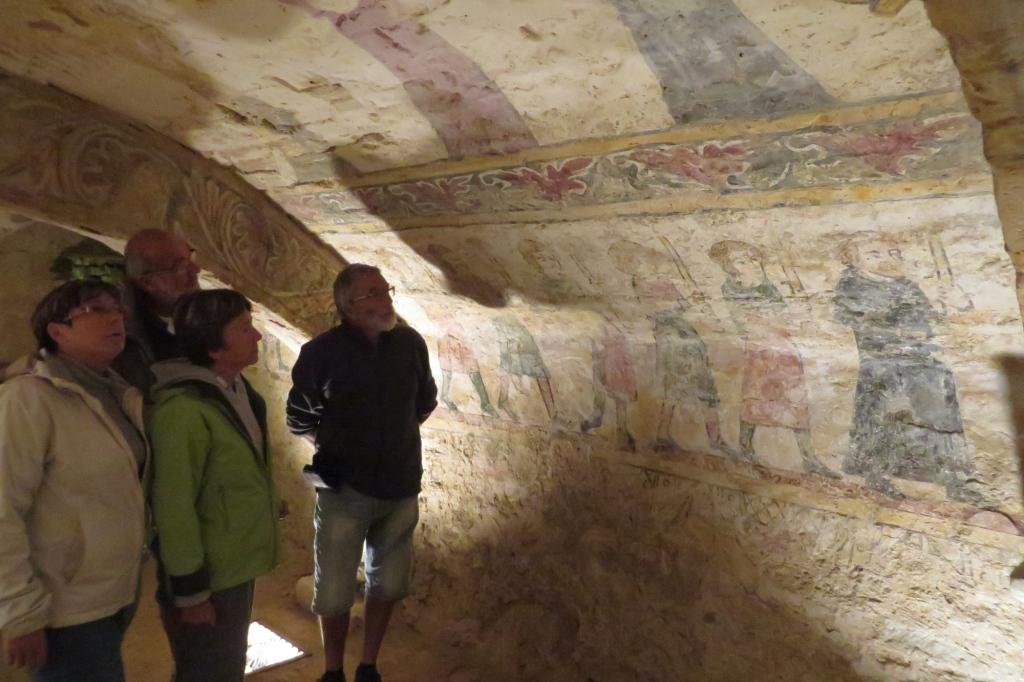 La crypte d'Alluy