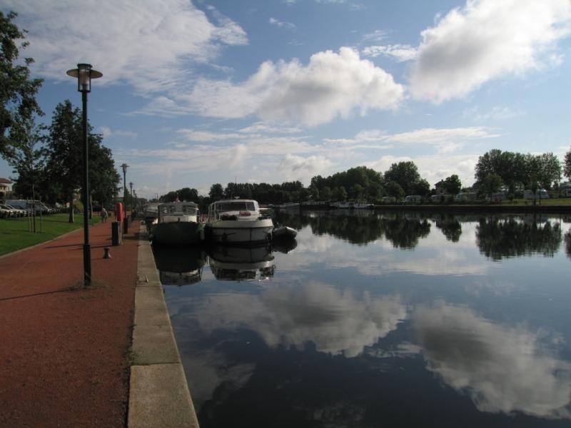 Le port de Roanne