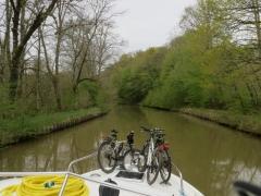 Sur le canal des Vosges