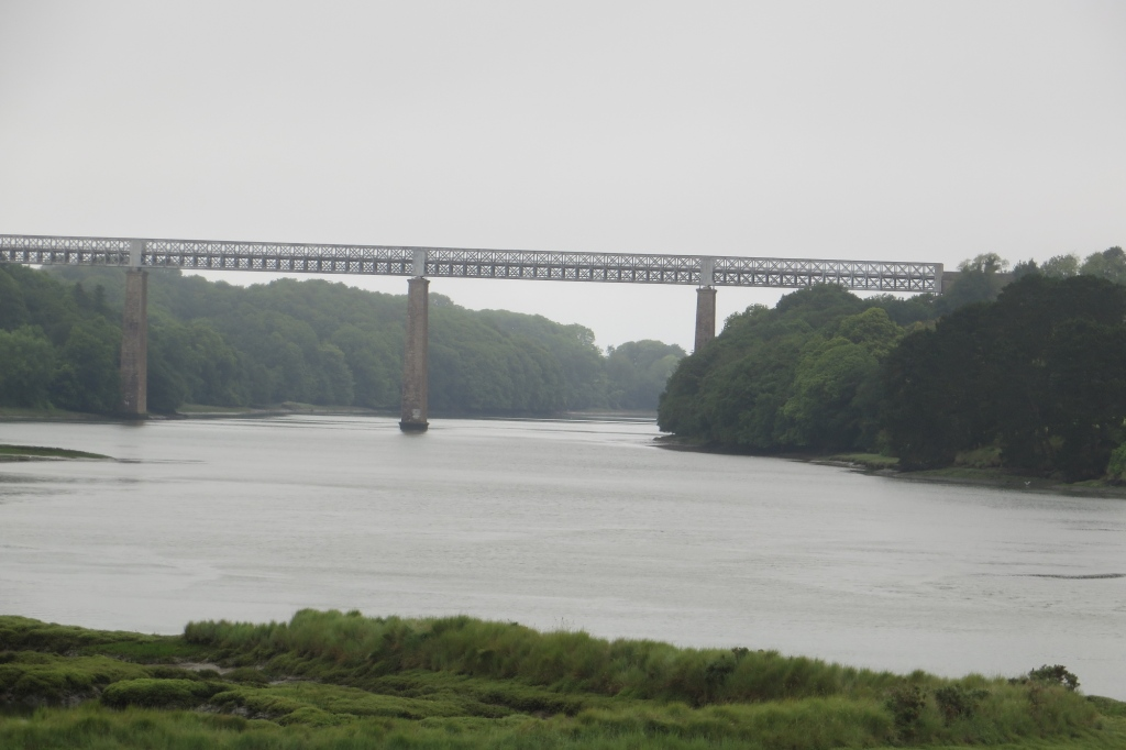 Le pont du train sur la Penzé