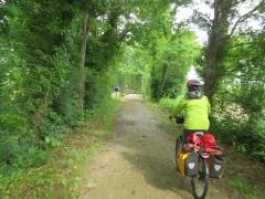 Sur la voie verte