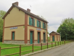 Ancienne gare retapée