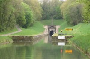 Entrée du tunnel de St Albin